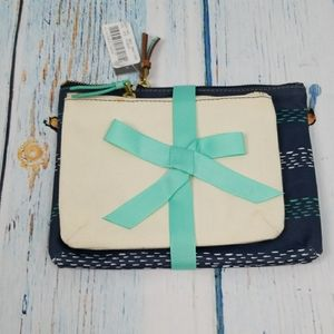 NWT FOSSIL COSMETIC BAG